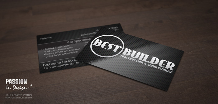 Business Card Printing & Delivery 名片设计影印及送货 - Best Builder