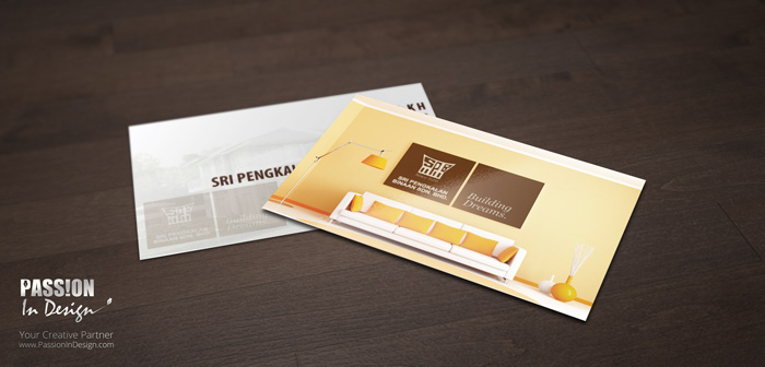 Business Card Printing & Delivery 名片设计影印及送货 - SPB Melaka
