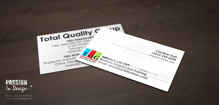 Business Card Printing & Delivery - TQG