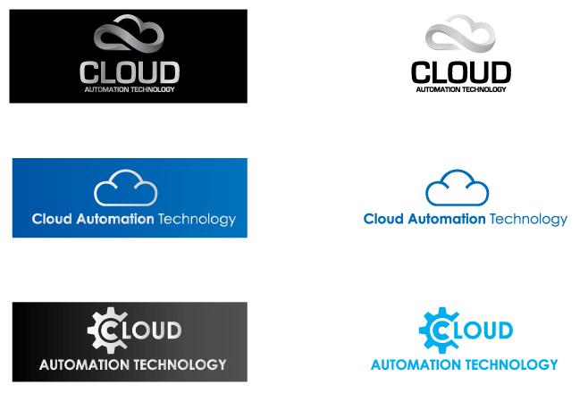 Creative Cloud Automation Logo Design