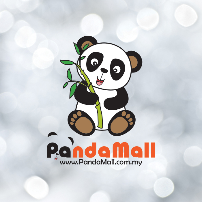 Panda Mall Logo Design