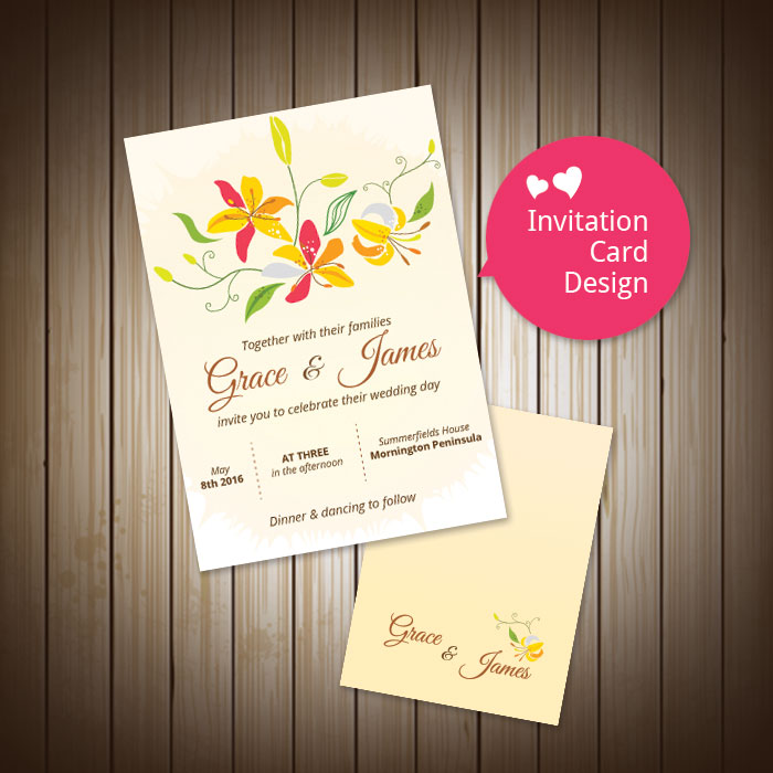 Wedding Invitation Card Wedding Invitation Full Set Design 婚礼邀请卡设计