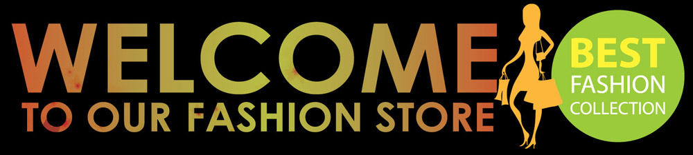 Fashion Shop Welcome Banner Design