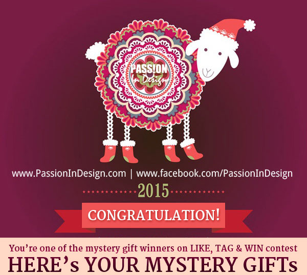 2015 Mystery Gift Giveaway!