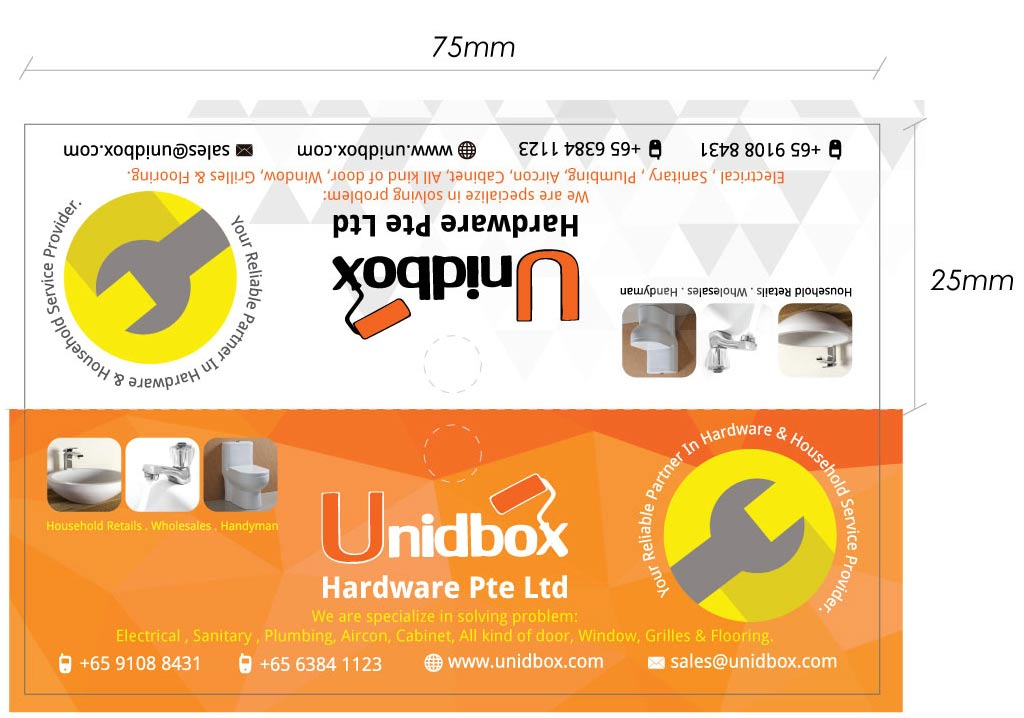 Unidbox Label Design