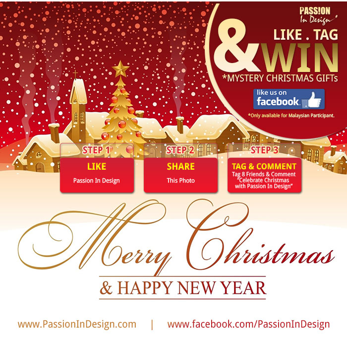 Celebrate Christmas with Passion In Design
