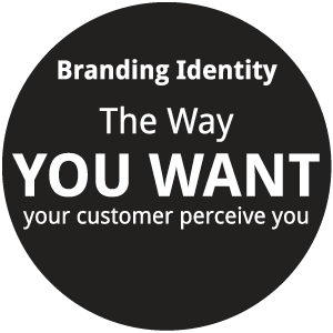 branding identity is the way you want your customer perceive you