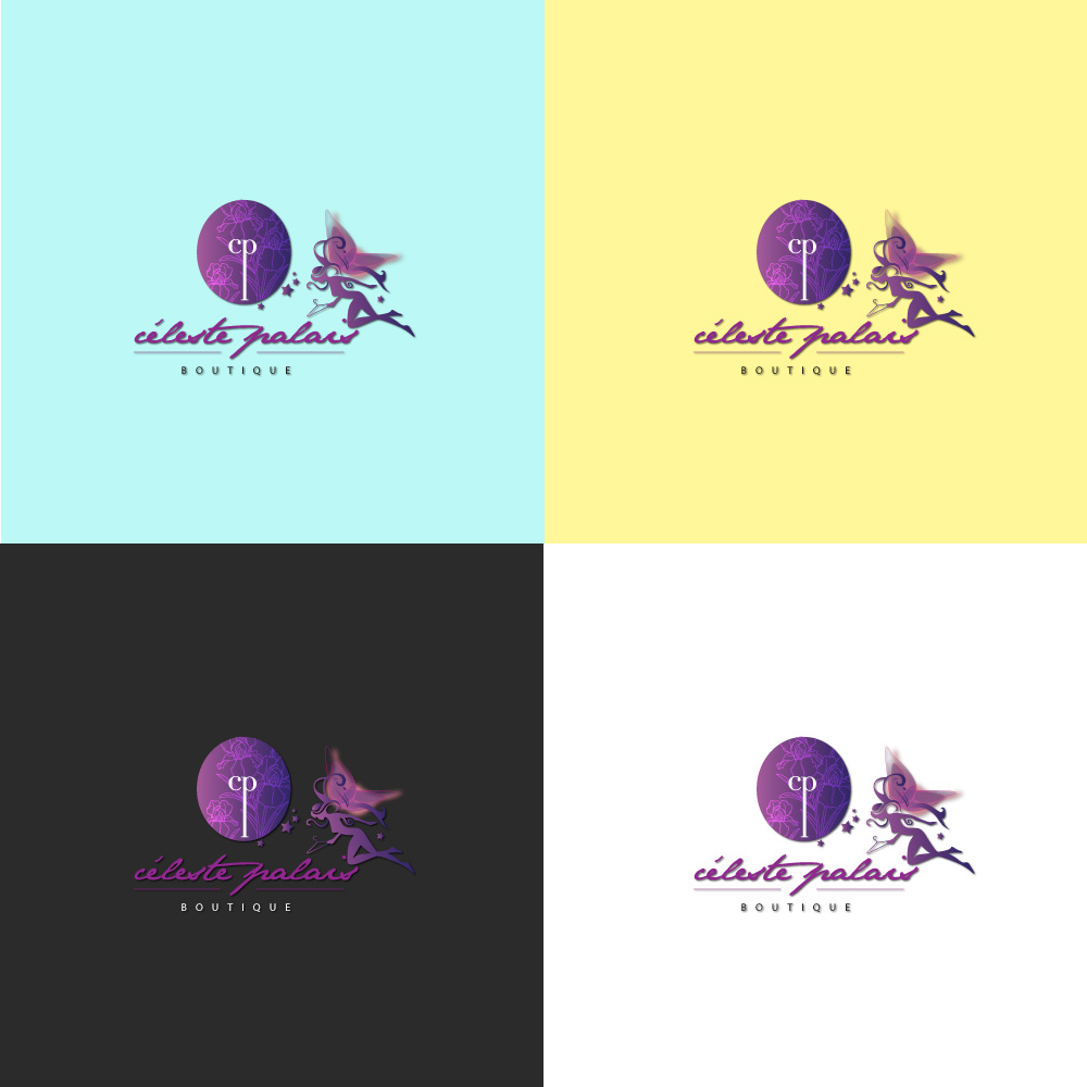 Logo Design for Celeste Palace Boutique