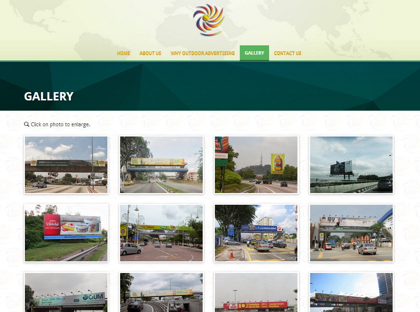Danwan Outdoor Advertising Website Photos Gallery