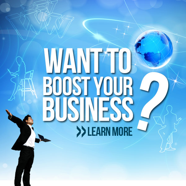 Want to boost your business?