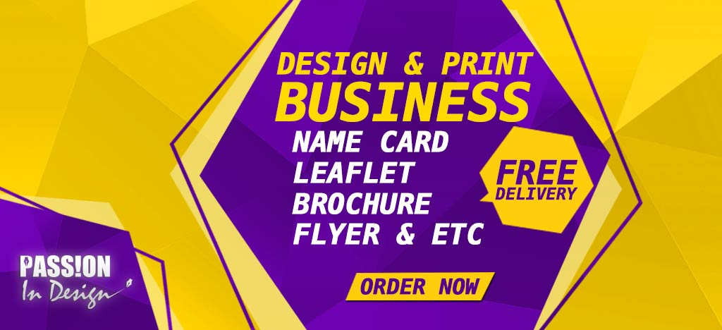West Malaysia Free Delivery Design & Printing