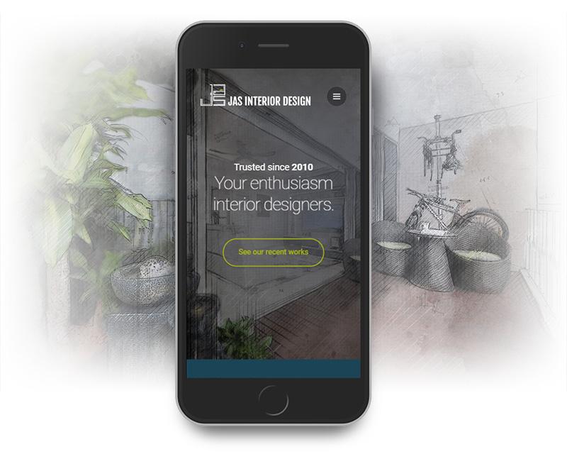 JAS Business Website - Mobile Optimised